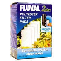Fluval 2+ Plus Poly Polyester Pad Genuine Product Pack of 4 X3